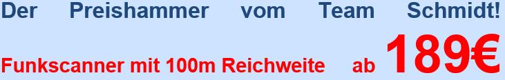 Der Preishammer vom Team Schmidt!